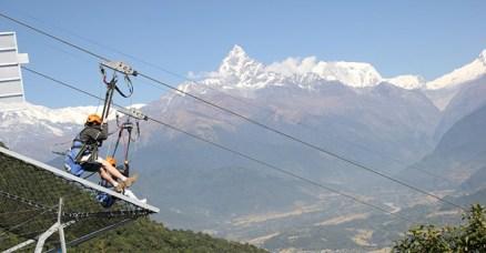 zip flyer pokhara, sarangkot, hemja,fewa lake,pokhara city,annapurna range,machhapuchhre