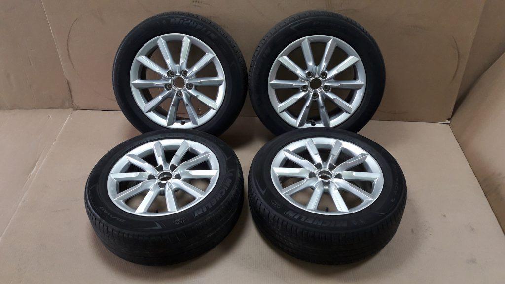 17 Inch Audi Q3 8U Velgen Met Banden 8U0601025S - Polat & Polat