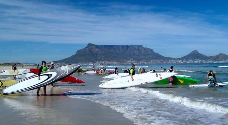 Stand-up Paddle Surfing in Cape Town