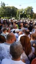 """Народ скандирует: """"Ла дубэ"""" (""""В тюрьму"""")"""