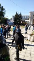 Плахатнюшки на подмоге у жандармов