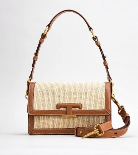 Raffia T Timeless Bag