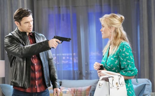 Xander Threatens Sami  - Days of Our Lives