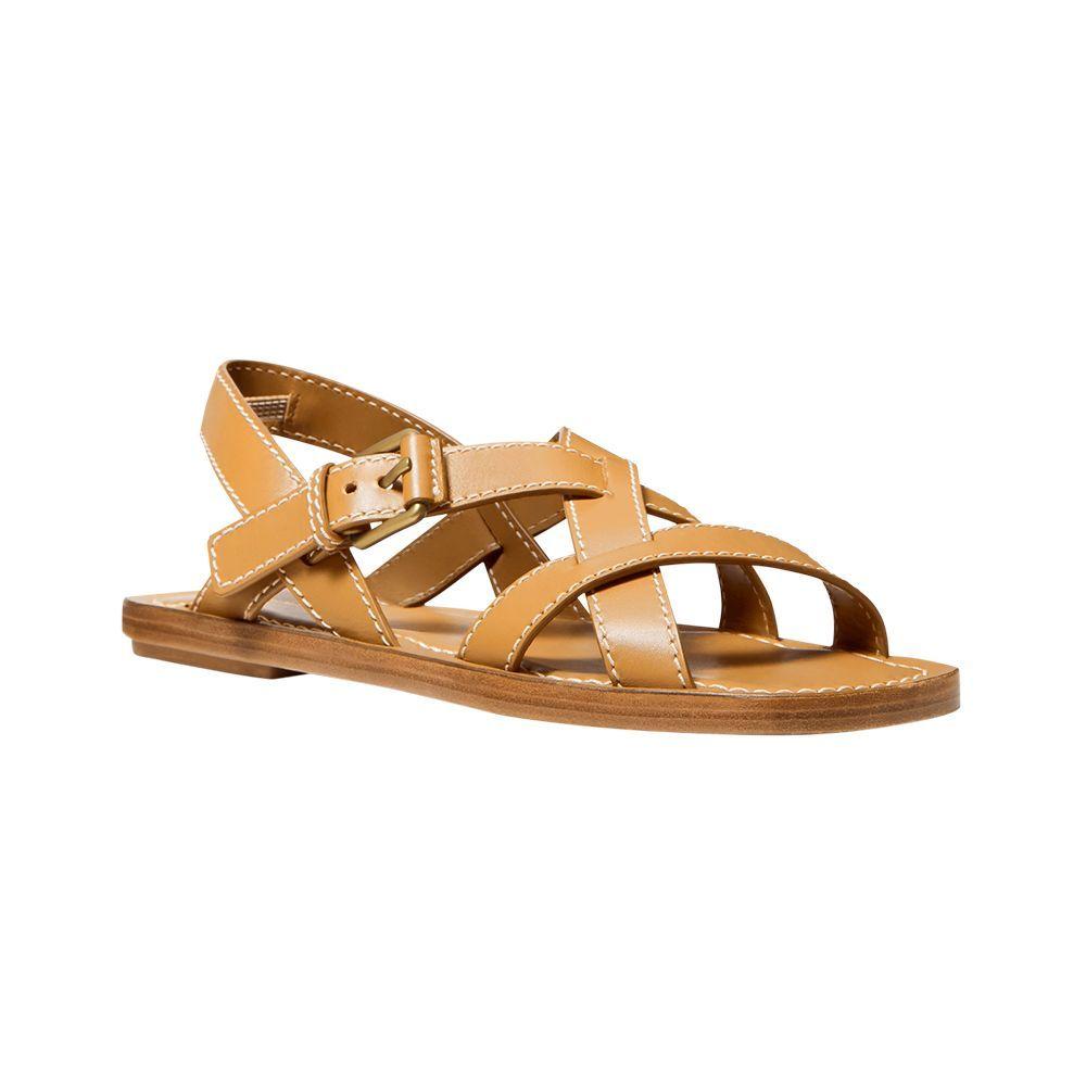 Perrine Leather Sandal
