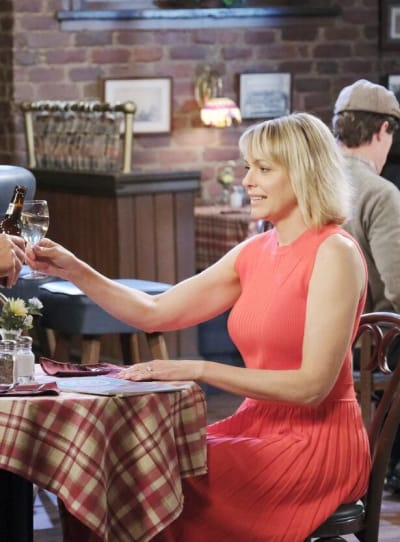 Rafe Presses Nicole / Tall - Days of Our Lives