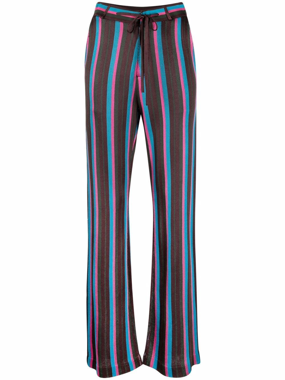 Striped Knit Trousers