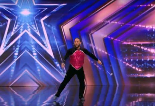Baton Twirling on America's Got Talent
