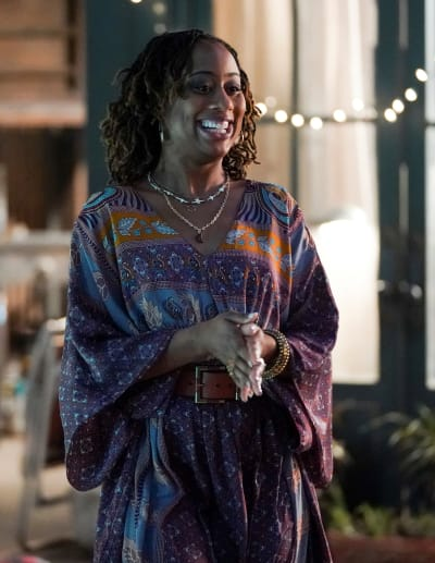 Happy Hostess - tall - Good Trouble Season 3 Episode 7