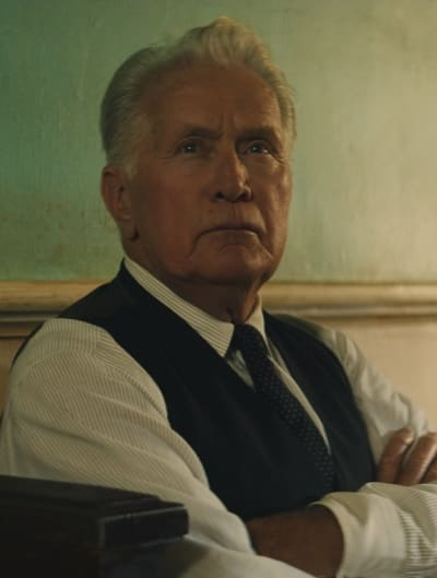 Martin Sheen from 12 Mighty Orphans