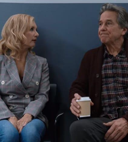 Muriel and Doc Wait - Virgin River Season 3 Episode 10