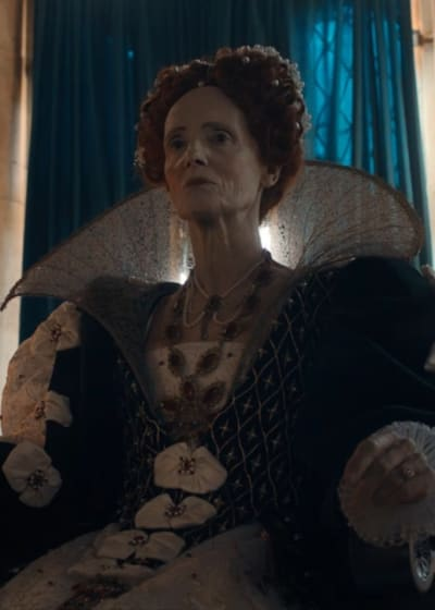 Queen Elizabeth - A Discovery of Witches Season 2 Episode 3