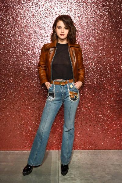 Selena Gomez Attends Fashion Week