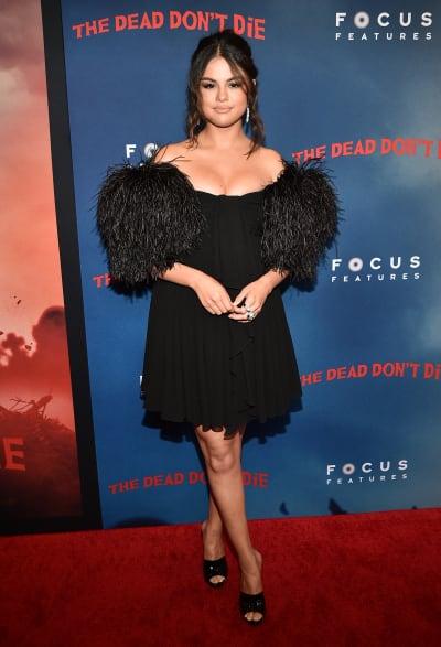 Selena Gomez Attends Premiere