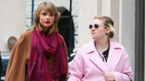 Taylor Swift Bridesmaid Lena Dunham Wedding SN ftr