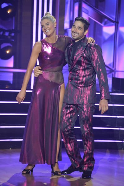 Amanda Kloots and pro Alan Bersten  - Dancing With the Stars Season 30 Episode 1