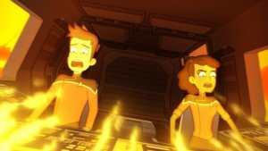 down in flames star trek lower decks 1