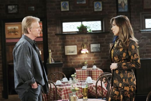 Fending Off Romantic Overtures - Days of Our Lives