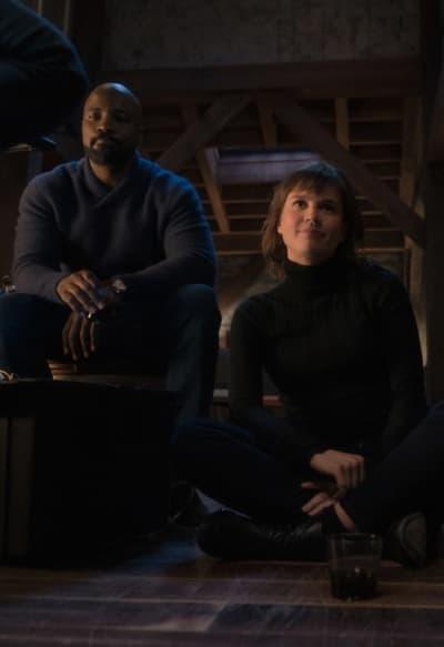 Grabbing a Drink - EVIL Season 2 Episode 9