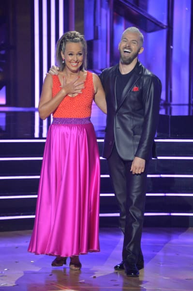 Melora Hardin and pro Artem Chigvintsev  - Dancing With the Stars Season 30 Episode 1