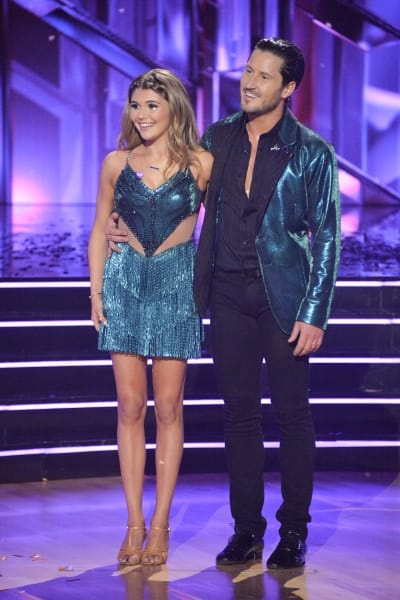 Olivia Jade and pro Val Chmerkovskiy  - Dancing With the Stars Season 30 Episode 1