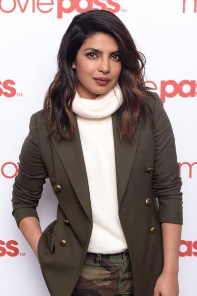 Priyanka Chopra Attends MoviePass Event