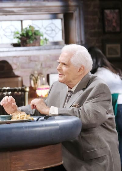 Roman Grows Concerned / Tall - Days of Our Lives
