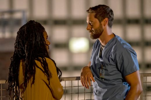 Their Rooftop  - New Amsterdam Season 4 Episode 1