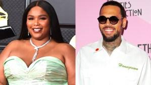 Lizzo Chris Brown Favorite Person shutter ftr