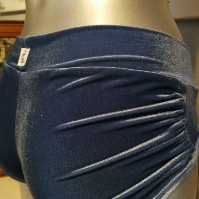 Ariane velour bleu/gris taille M soldes