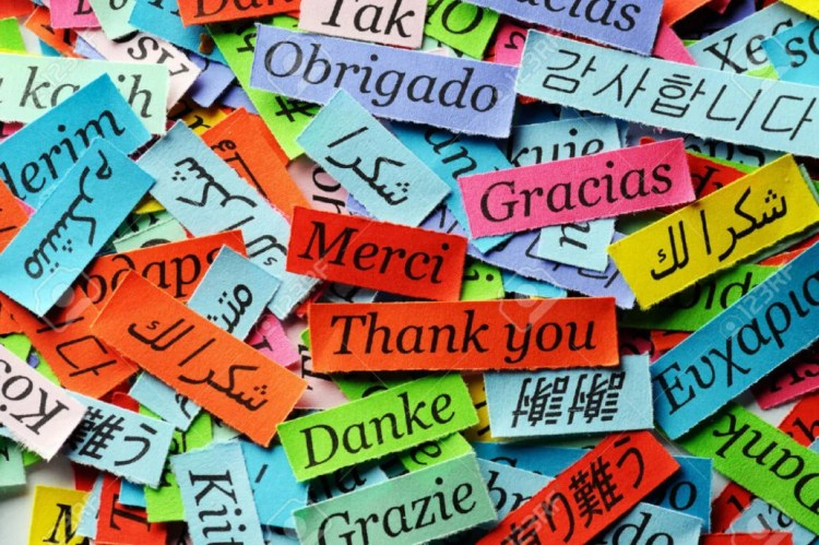 thank you languages