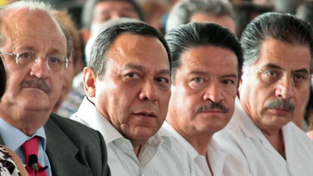 Los Chuchos: Jesús Ortega, Carlos Navarrera y Jesús Zambrano. Foto: Internet.
