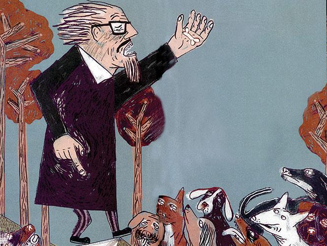 Discurso de José Revueltas a los perros. Imagen: IdeaZapato