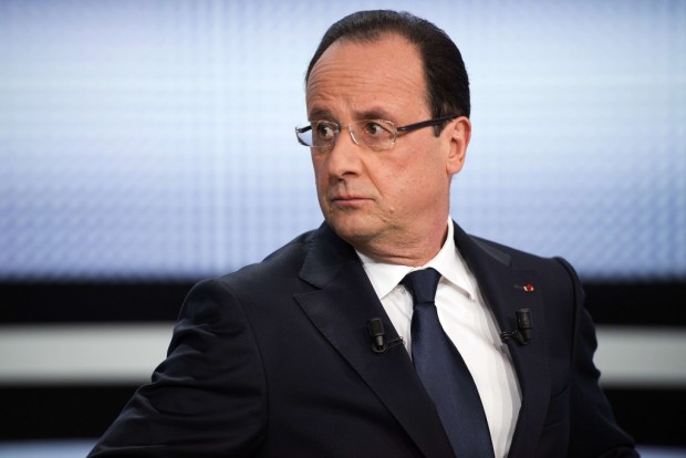 El presidente de la República Francesa, Francois Hollande.