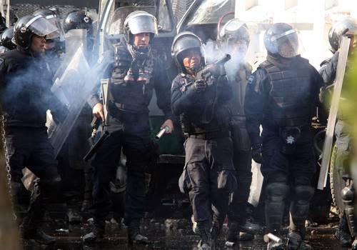 Policías federales en 2012.