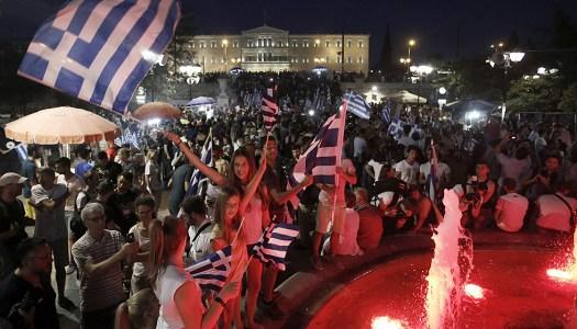 Los griegos dicen no a los que se sienten dueños del mundo