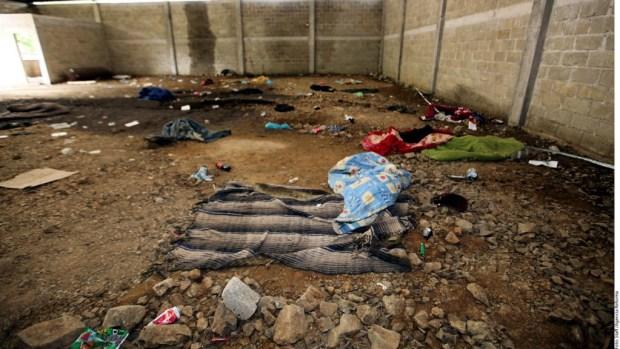 Lugar de la ejecución en Tlatlaya.