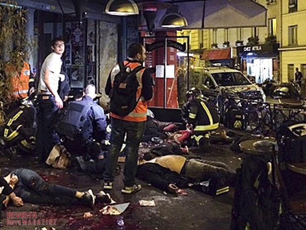 Atentados en París. Foto: Internet