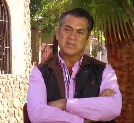 """El gobernador de Nuevo León, Jaime Rodríguez """"El Bronco""""."""