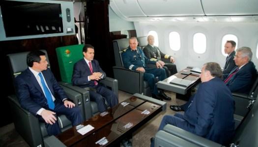 El nuevo avión presidencial no es un palacete, según Peña Nieto