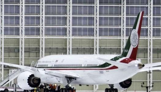 Visita guiada al ostentoso avión de EPN, piden diputados de Morena