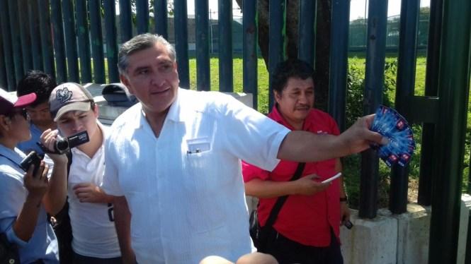 Adán Augusto López Hernández, presidente de Morena Tabasco.
