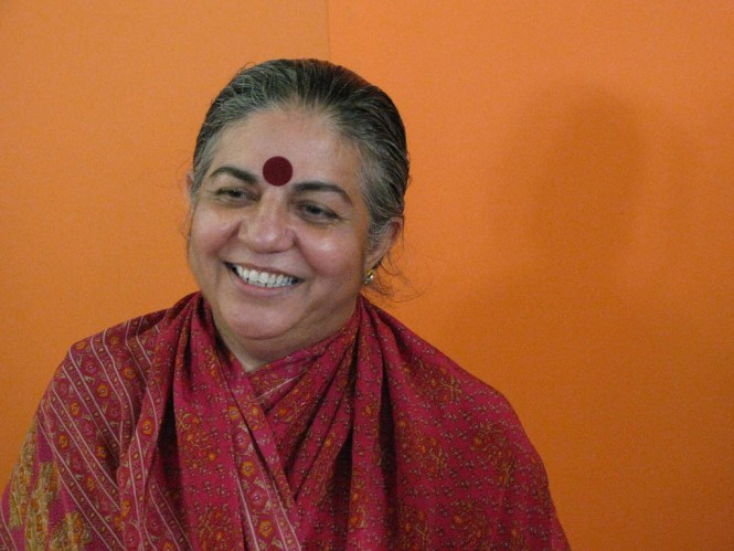 Vandana Shiva. Foto: ElenaTubaro/ Flickr