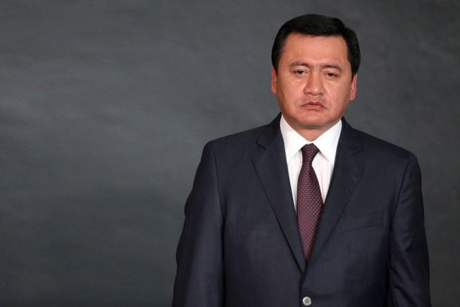 Miguel Ángel Osorio Chong, titular de la Secretaría de Gobernación. Foto: German Canseco/Proceso