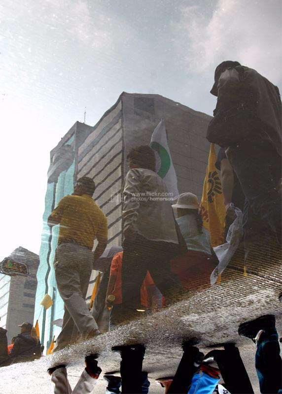 Marcha en Reforma en 2006. Foto: La palabra ingrata/Flickr