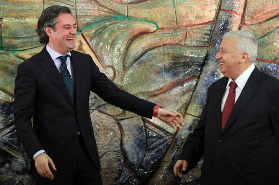 Emilio Chuayffet y Aurelio Nuño. Foto: Internet
