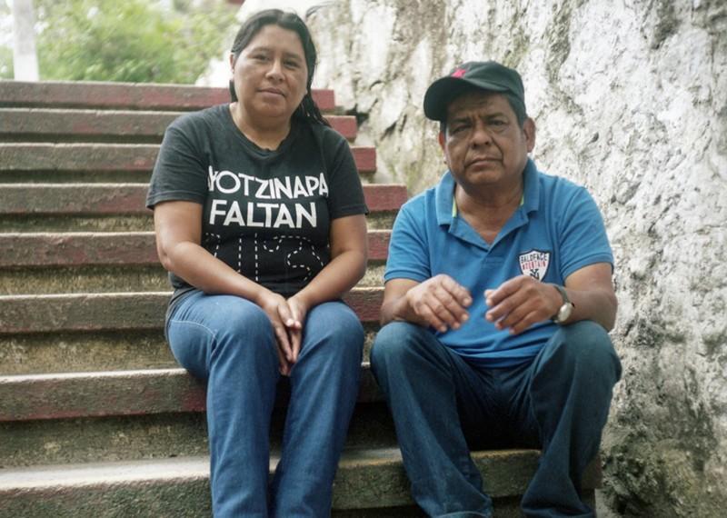 Lorenzo Francisco Gálvez y Benigna Arzola Cruz , los padres de Luis Ángel Francisco Arzola. Foto: Scott Brennan