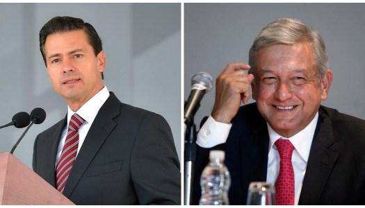 Peña Nieto en caída libre; Morena en primer lugar rumbo al 2018