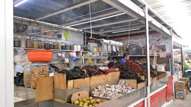 Puesto de Don José en el Mercado de Polanco. Foto: Irma Cecilia Villalobos Medina