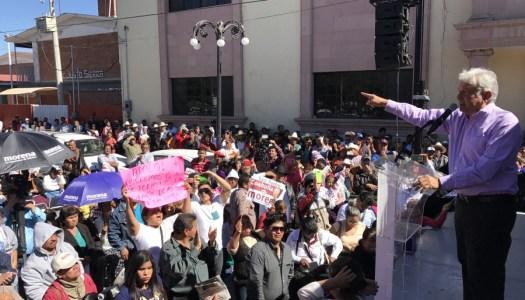 Exige AMLO a Peña Nieto hacer pública la agenda con Trump