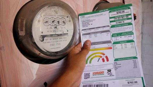 CFE sube tarifas de luz